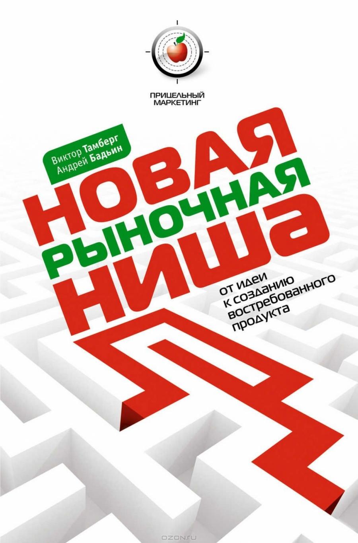 Обложка книги:  андрей бадьин, виктор тамберг - новая рыночная ниша. от идеи к созданию нового востребованного продукта.