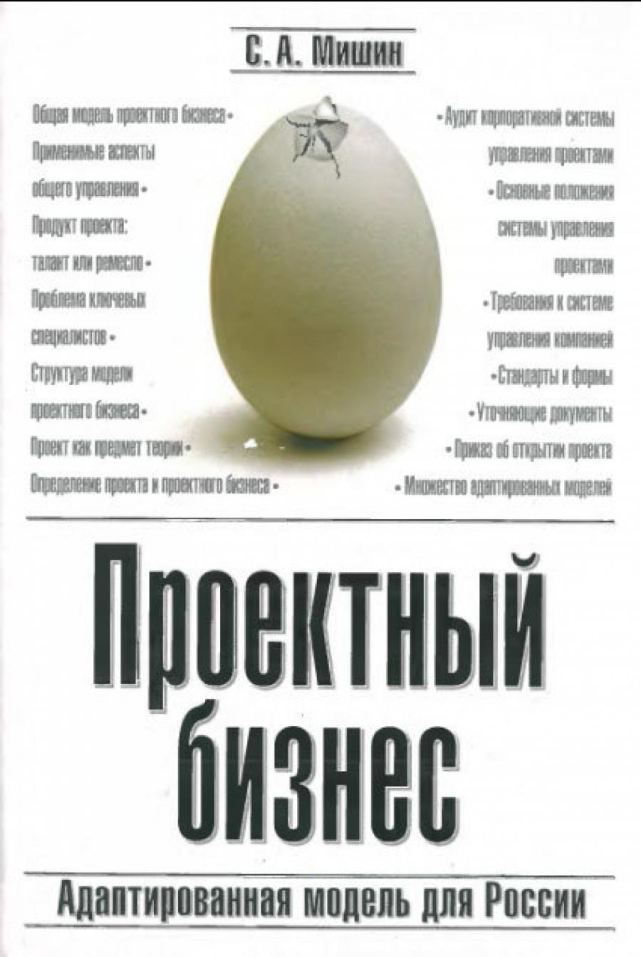 Обложка книги:  с.а. мишин - проектный бизнес адаптированная модель для россии