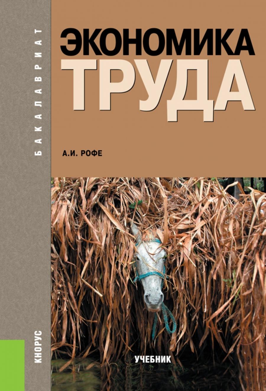 Обложка книги:  рофе а.и. - экономика труда