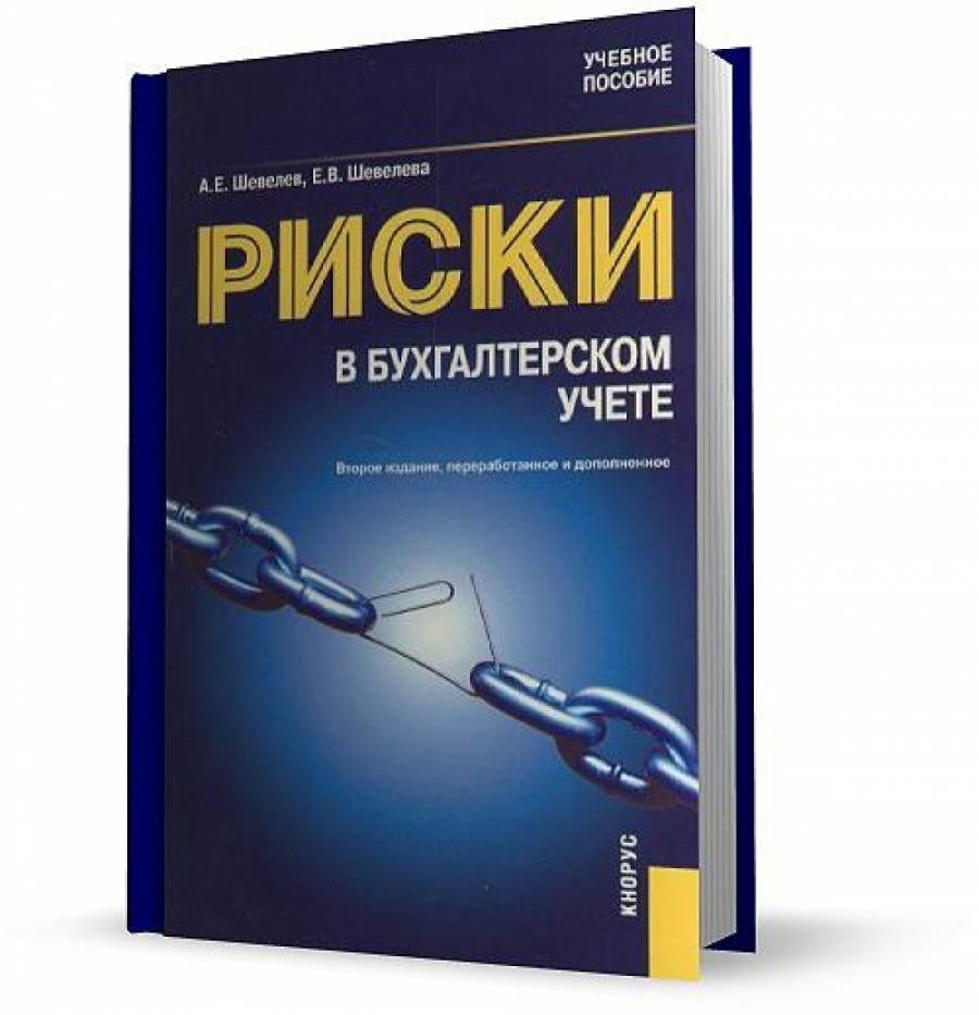Обложка книги:  шевелев а.е., шевелева е.в. - риски в бухгалтерском учете