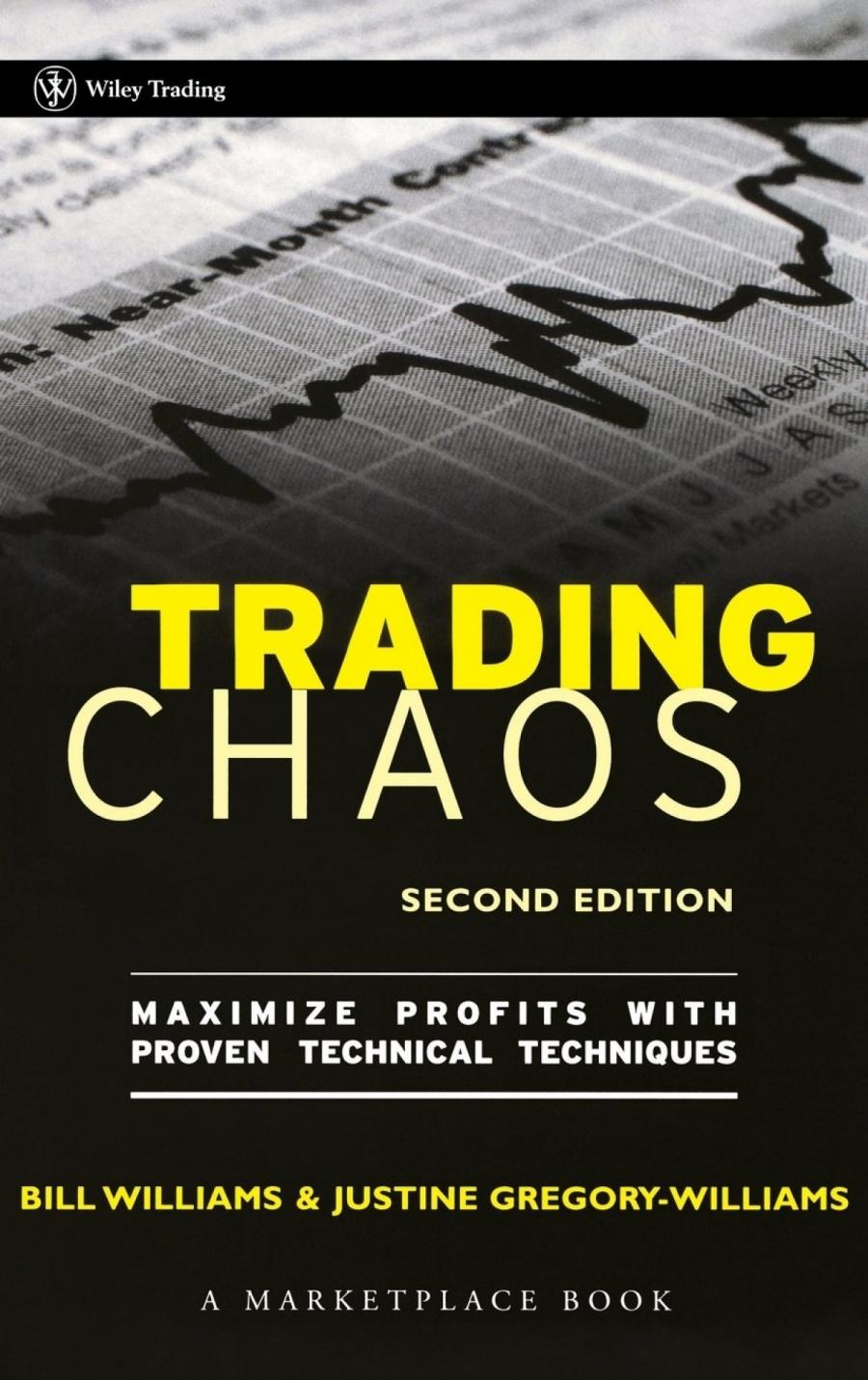 Обложка книги:  билл вильямс и джастин грегори-вильямс - торговый хаос