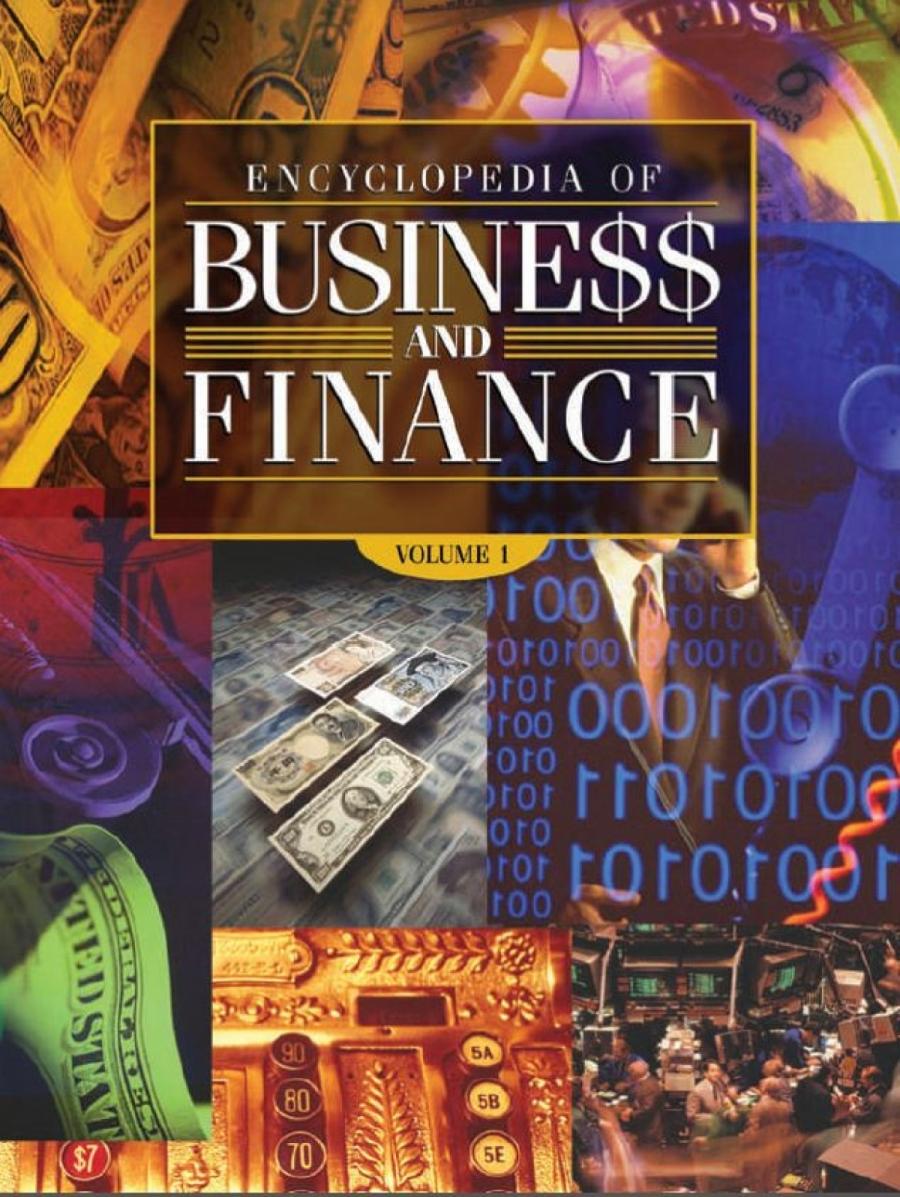 Обложка книги:  б. калински - энциклопедия бизнеса и финансов