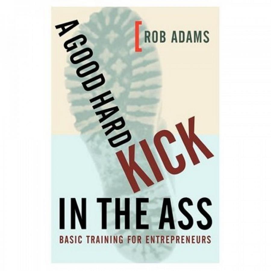 Обложка книги:  роб адамс - хороший увесистый пинок под зад