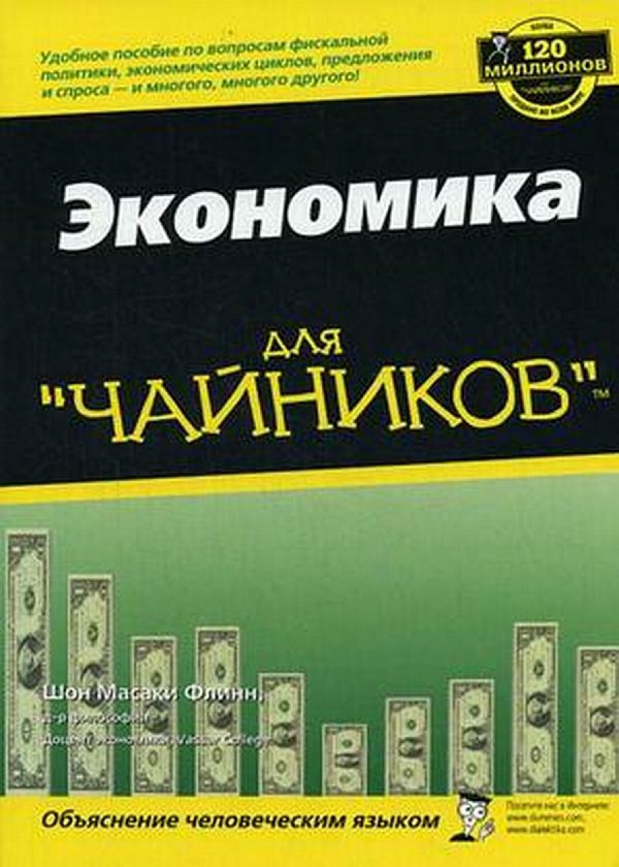 Обложка книги:  шон масаки флинн - экономика для чайников