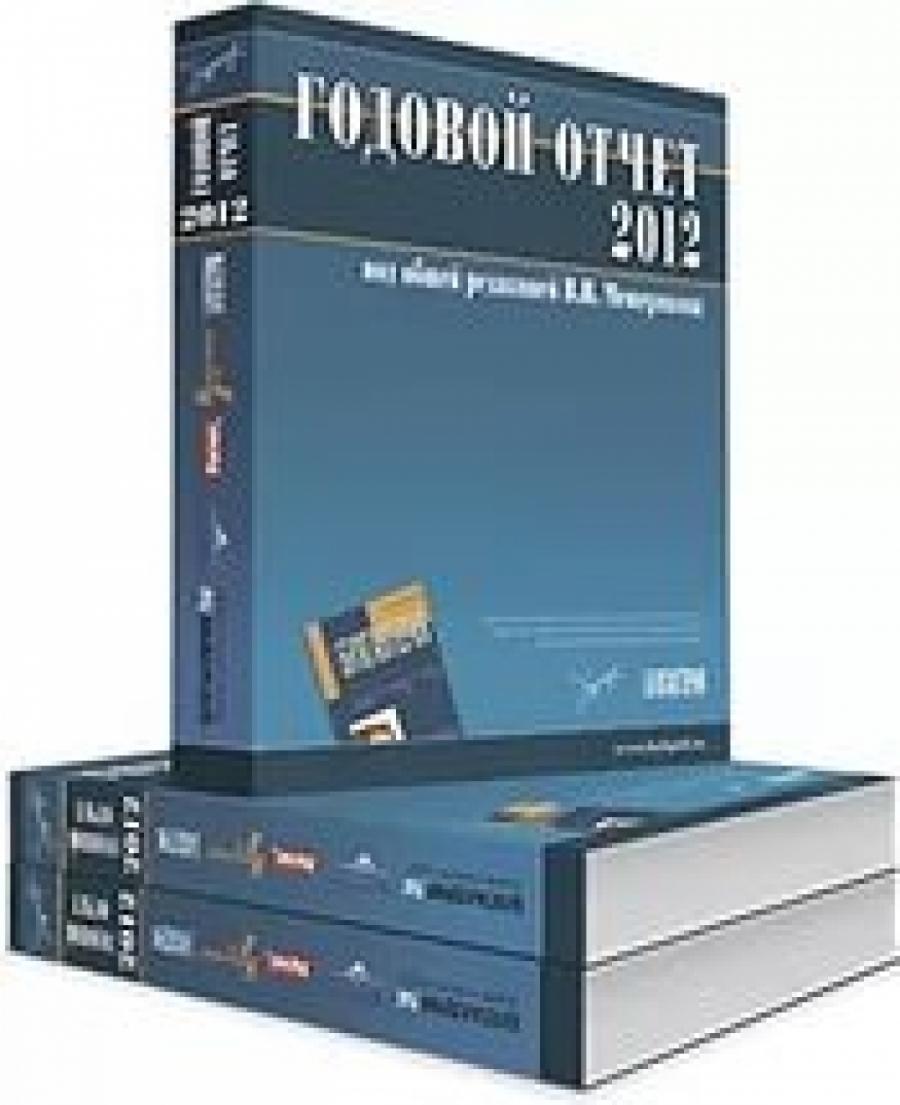 Обложка книги:  в.и.мещеряков - годовой отчет - 2012