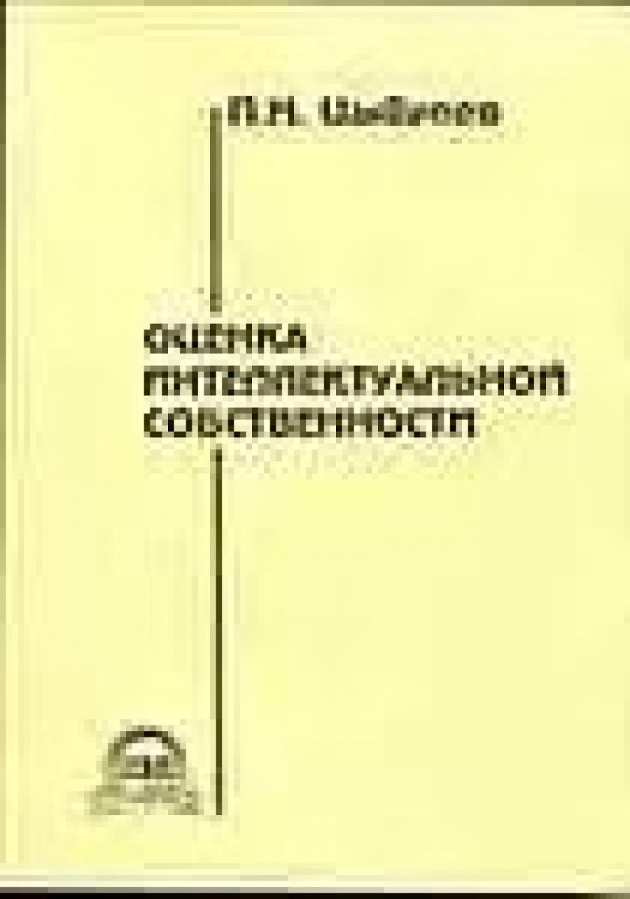 Обложка книги:  цыбулев п .н. - оценка интеллектуальной собственности
