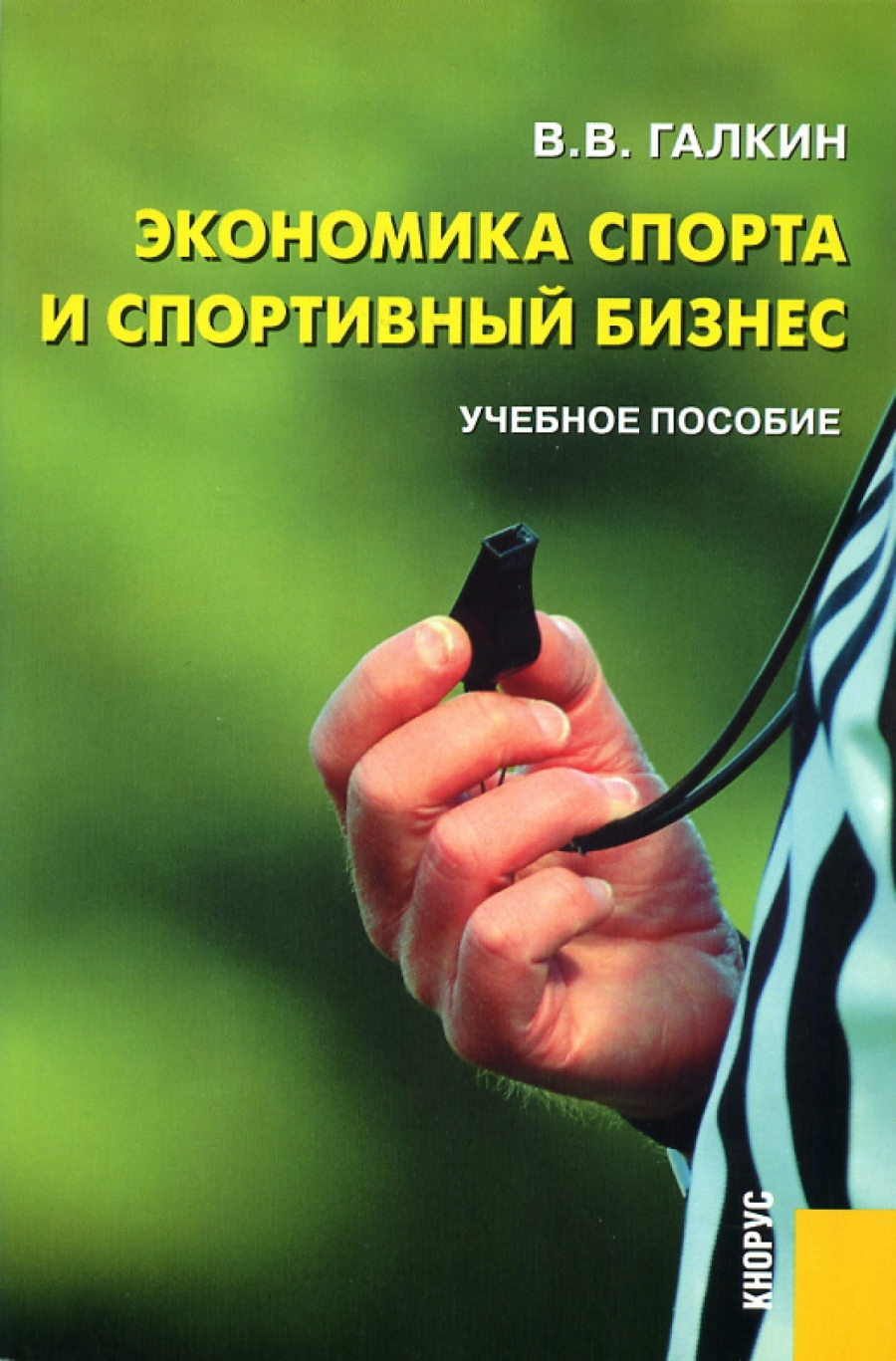 Обложка книги:  галкин в.в. - экономика спорта и спортивный бизнес
