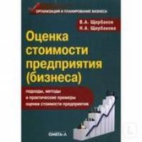 В. А. Щербаков, Н. А. Щербакова - Оценка стоимости предприятия (бизнеса)