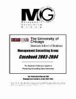 GBS Chicago University - Бизнес кейсы университета Чикаго
