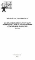 Молчанов И.Н., Герасимова И.А. - Компьютерный практикум по начальному курсу эконометрики (реализация на Eviews)